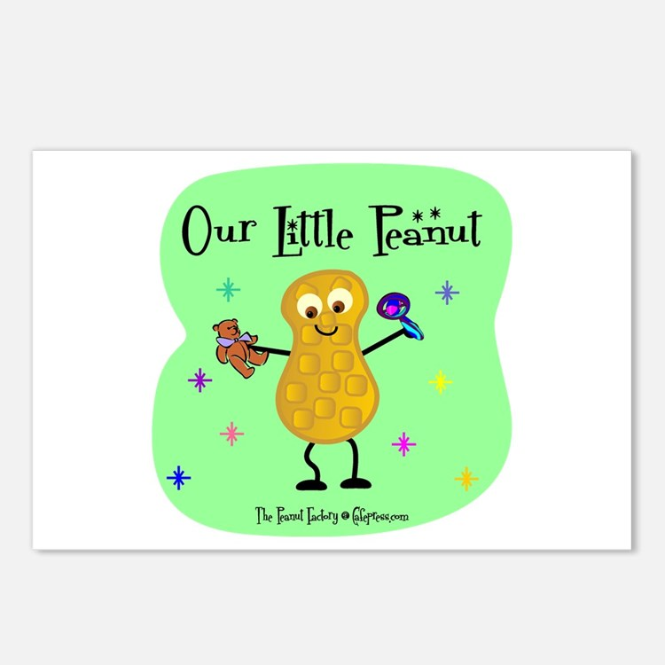 Our Little Peanut Postcards (Package of 8)