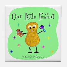 Our Little Peanut Tile Coaster