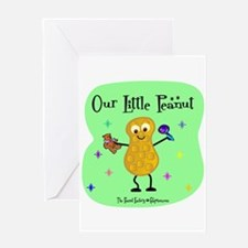 Our Little Peanut Greeting Card