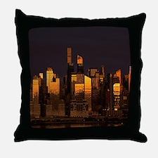Midtown NYC Throw Pillow