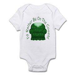 I'd Rather Be On The Couch! Infant Bodysuit