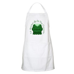 I'd Rather Be On The Couch! BBQ Apron