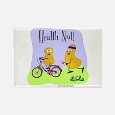 Health Nut Rectangle Magnet