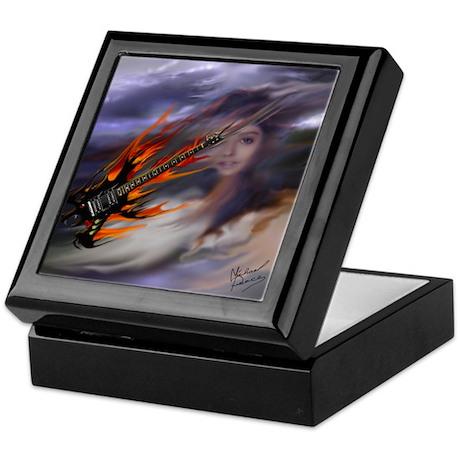 guitar pick keepsake box by michaelpeace. Black Bedroom Furniture Sets. Home Design Ideas