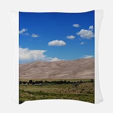 Great Sand Dunes7 Woven Throw Pillow