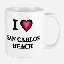 I love San Carlos Beach California Mugs