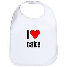 I love cake Bib
