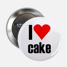 "I love cake 2.25"" Button"