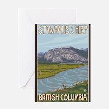 Squamish, British Columbia - Stawamus Chief Greeti