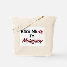 Kiss me I'm Malagasy Tote Bag