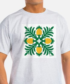 Hawaiian Quilt Pineapple T-Shirt