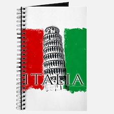 Pisa Italian Flag Journal
