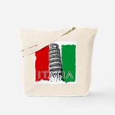 Pisa Italian Flag Tote Bag
