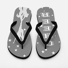 Gray Allstar Cheer Flip Flops