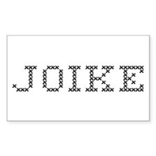 JOIKE Rectangle Decal