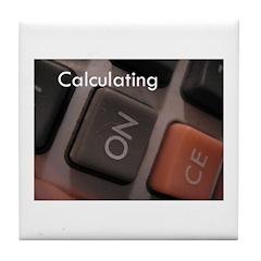Calculating Tile Coaster
