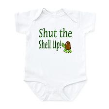 shut the shell up Infant Bodysuit