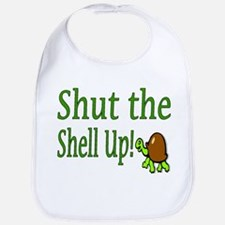 shut the shell up Bib