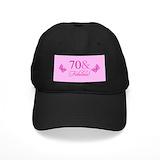 70th birthday mom Black Hat