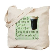 Irish Toast Tote Bag