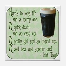 Irish Toast Tile Coaster