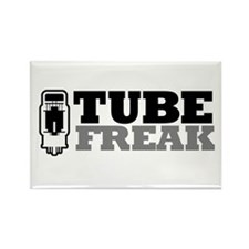 Tube Freak Rectangle Magnet