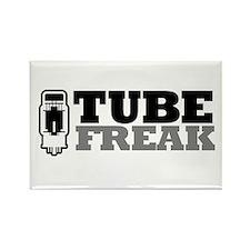 Tube Freak Rectangle Magnet