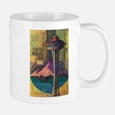 Seattle, WA - Space Needle World's Fair Mugs