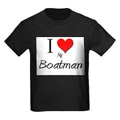 I Love My Boatman T