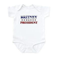 BRITNEY for president Onesie