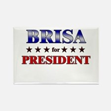 BRISA for president Rectangle Magnet