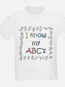 I Know my ABC's T-Shirt