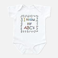 I Know my ABC's Infant Bodysuit