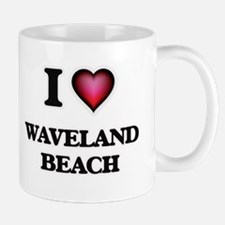 I love Waveland Beach Mississippi Mugs