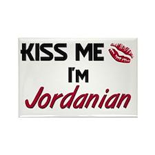 Kiss me I'm Jordanian Rectangle Magnet