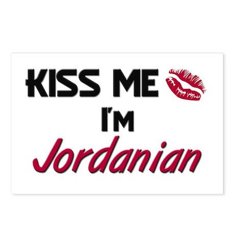 Kiss me I'm Jordanian Postcards (Package of 8)