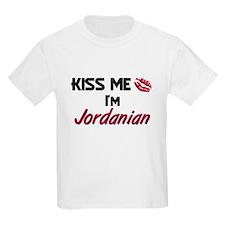 Kiss me I'm Jordanian T-Shirt