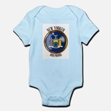 New York Proud Flag Button Body Suit