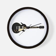 Typical Rock Guitar Wall Clock