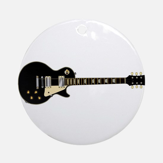Typical Rock Guitar Round Ornament