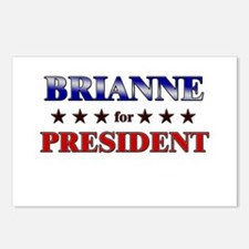 BRIANNE for president Postcards (Package of 8)