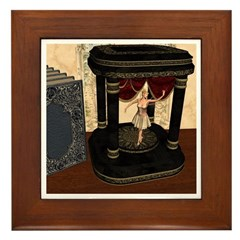 The Music Box Framed Tile