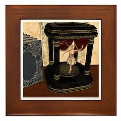The Music Box Framed Tile