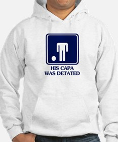 Humor Capa Detated Jumper Hoody