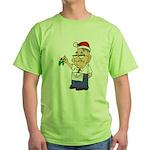 Kiss a Mason Mistletoe Green T-Shirt