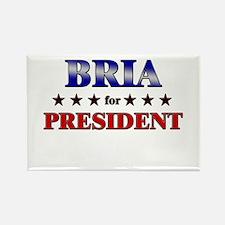BRIA for president Rectangle Magnet