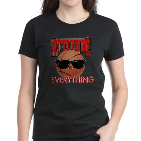Attitude is Everything Women's Dark T-Shirt