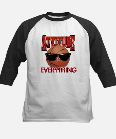 Attitude is Everything Kids Baseball Jersey