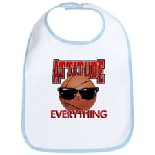 Attitude is Everything Bib