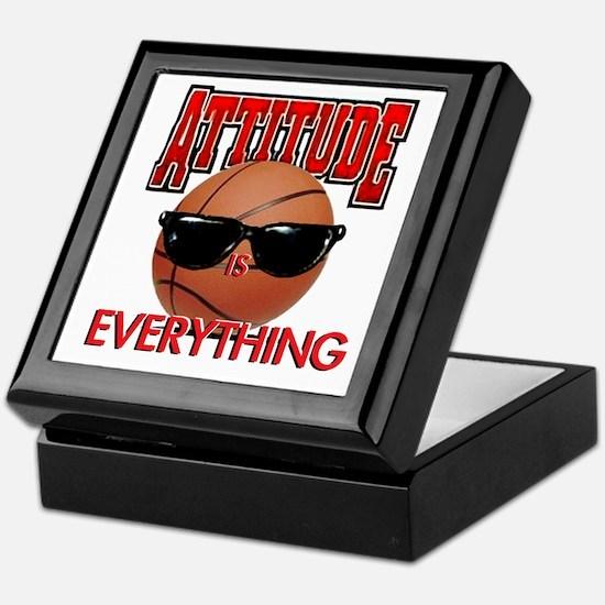 Attitude is Everything Keepsake Box